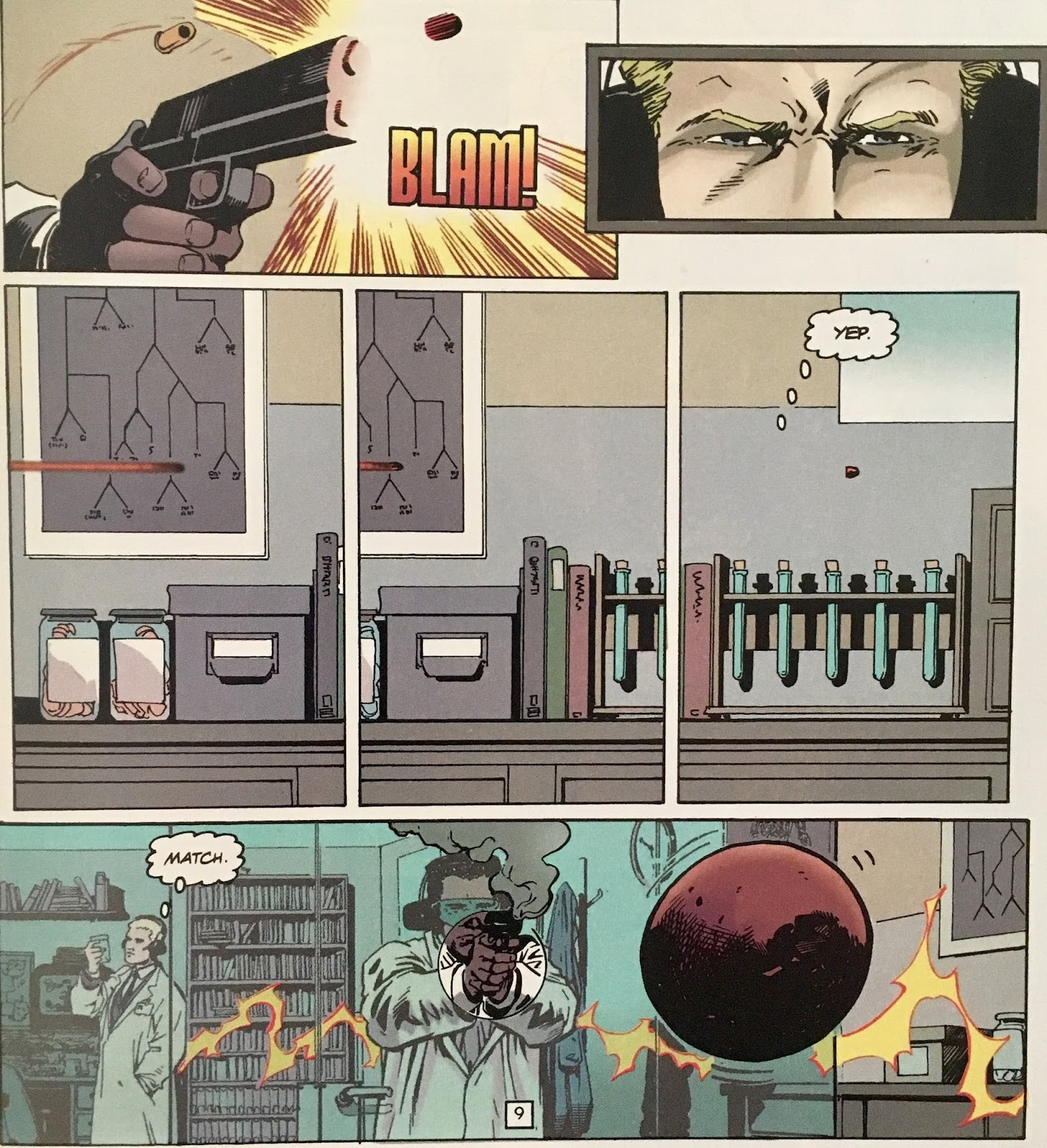Chris is on Infinite Earths: JLA: Year One #1 (1998)