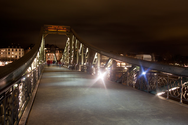 Ponte Eiserner Steg-Francoforte