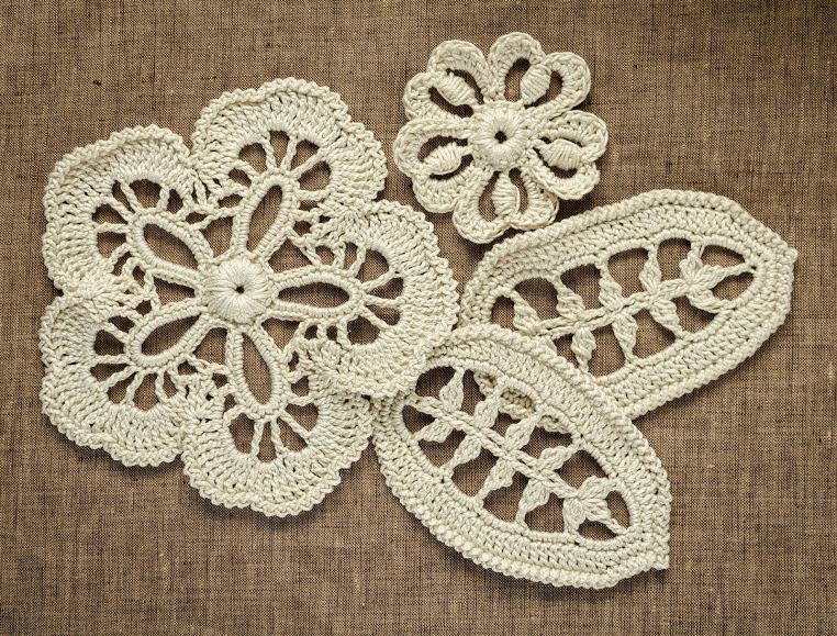 Motivi Pizzo Irlanda Irish Crochet Patterns Doda Crochet