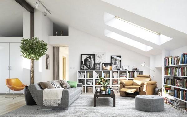 48 Desain Interior Rumah Mungil