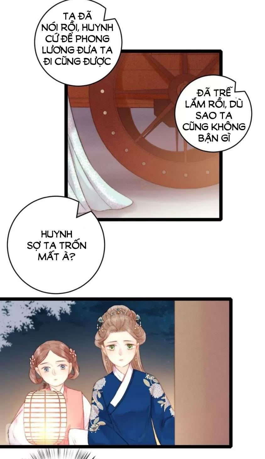 Nàng Phi Cửu Khanh - Thần Y Kiều Nữ chap 55 - Trang 30