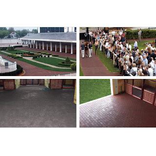 Greatmats rubber pavers horse barn aisles outdoor aisleways