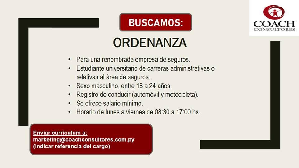 08 AGOSTO 2018 | BOLSA DE TRABAJO PARAGUAY EMPLEOS | 💼 BOLSA DE ...