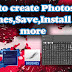 How to create Photoshop Brushes,Save,Install and more