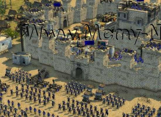 تحميل لعبة صلاح الدين النسخة المعدله  stronghold crusader extreme برابط مباشر من مديا فاير