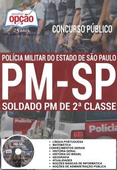 Apostila Concurso PMSP 2017 Soldado PM de 2ª Classe