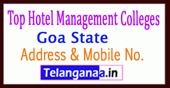 Top Hotel Management Colleges in Goa