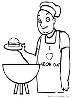 Labor Coloring Pages