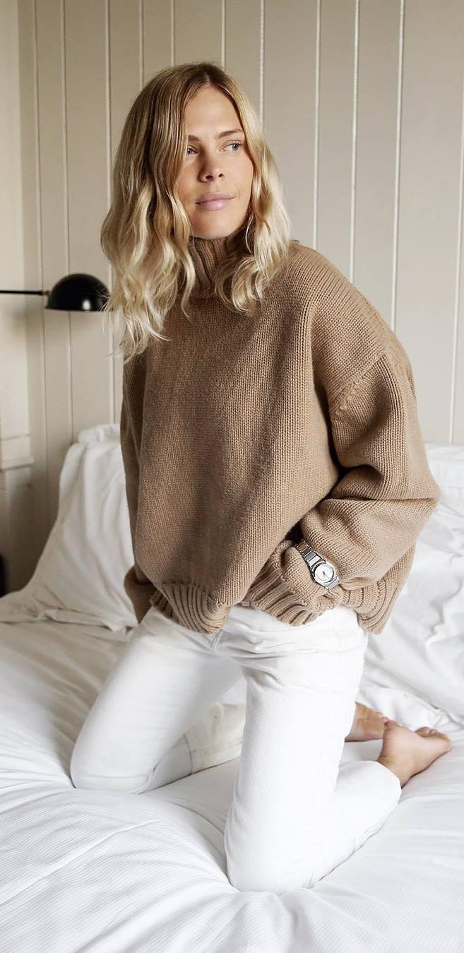 knit + skinnies