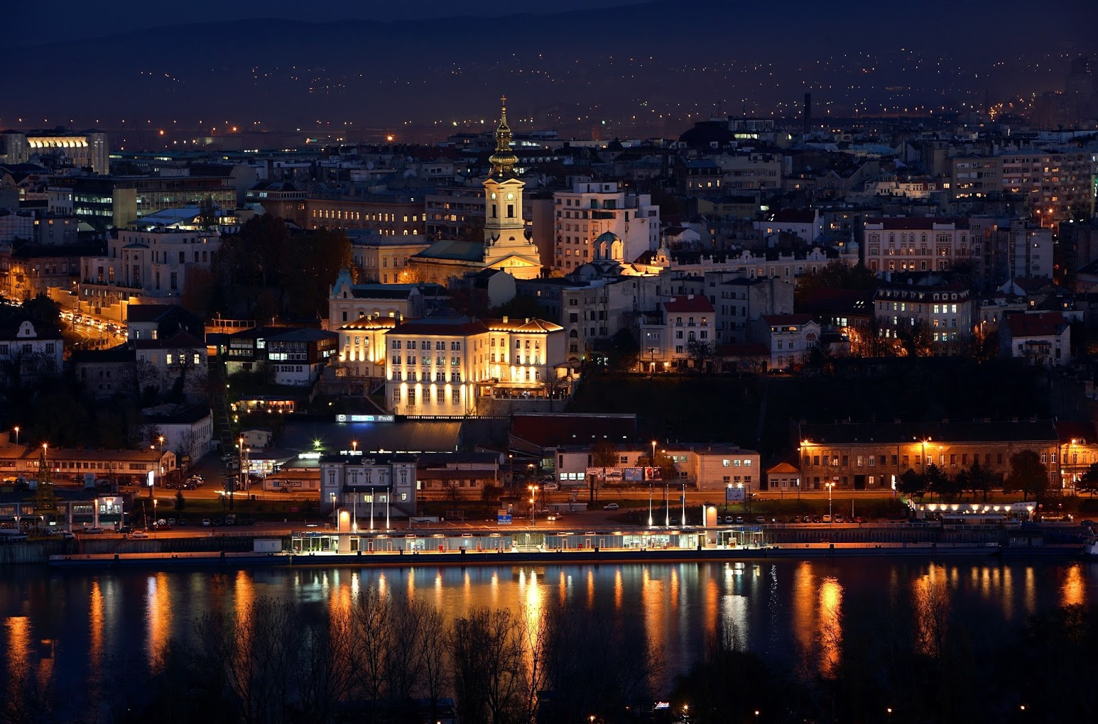 Belgrade, Serbia HD Background
