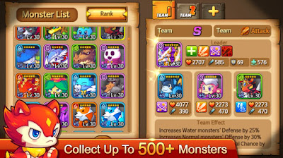 Monster Squad v.2.00.17317 Apk Mod Attack Gratis Terbaru - Akozo.Net