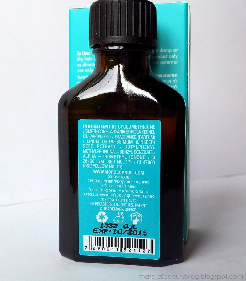 Hair Oils Series Moroccanoil Treatment Original Mateja