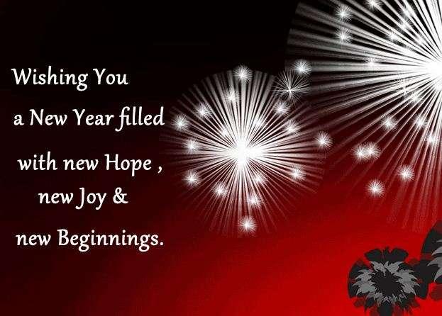 Happy New Year Wishes photos - Jen Hill Photo