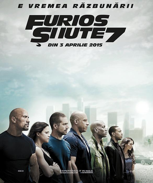 Furious 7: încasări record la boxoffice