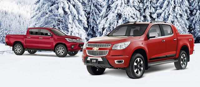 Chevrolet S10 supera Hilux: mais vantagens por R$ 27 mil a menos