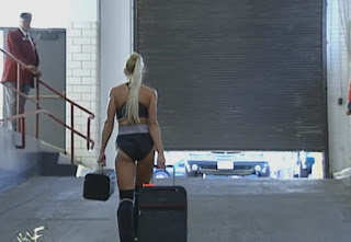 WWF - Over the Edge 1998 Review - Sable leaves the arena after losing to Marc Mero