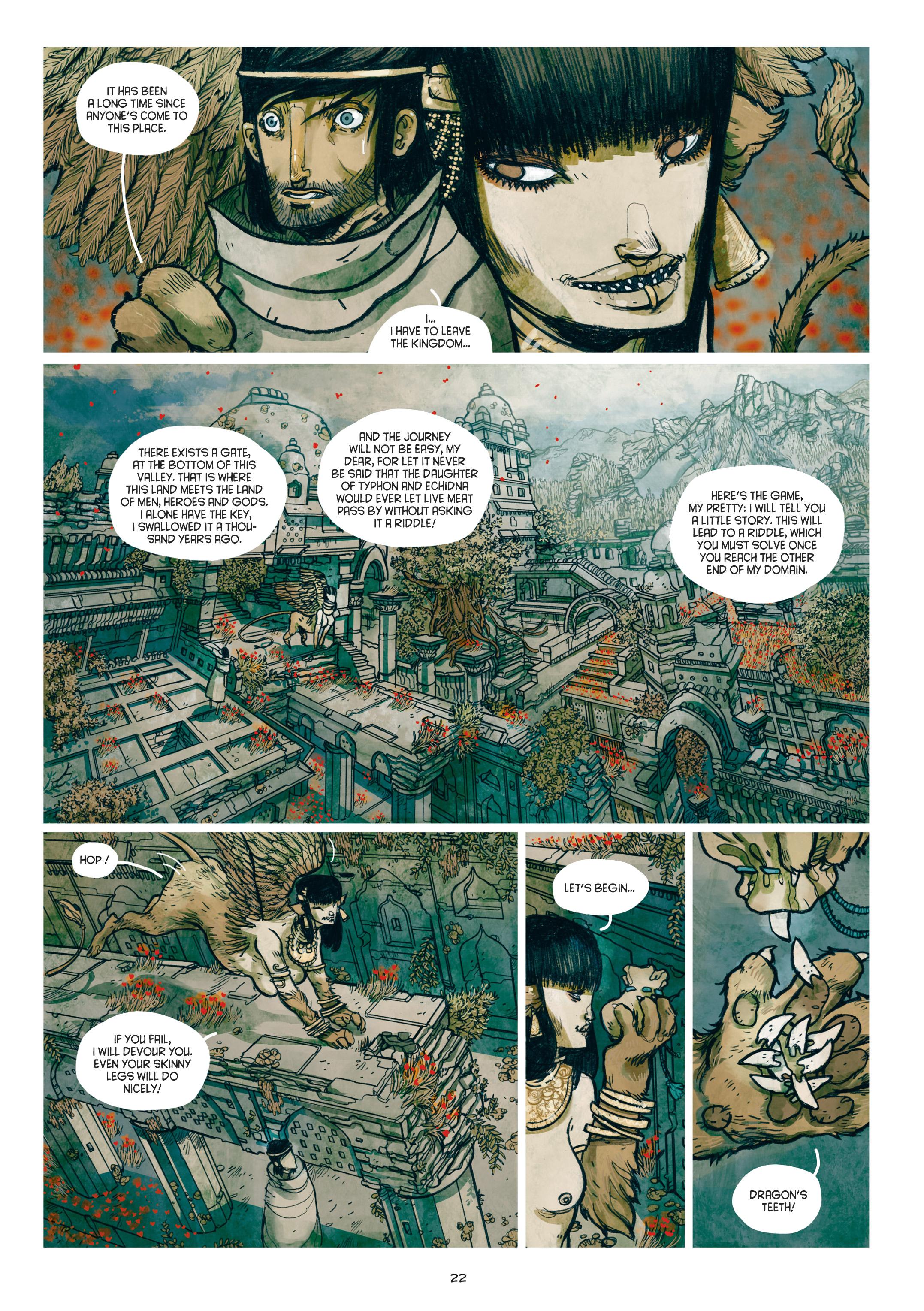 Read online Adrastée comic -  Issue #1 - 23