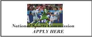 Apply for jobs @ National Sports Commission Recruitment 2018