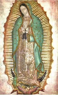 Imagen de la Virgen de Guadalupe de la basílica de México