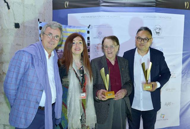 """Τα βραβεία του 8oυ Διεθνούς Κινηματογραφικού Φεστιβάλ """"ΓΕΦΥΡΕΣ"""" 2017"""