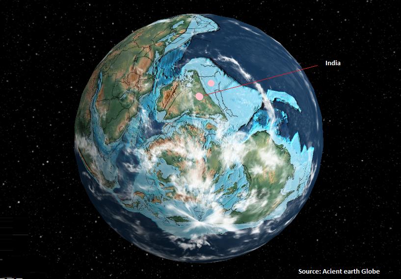 आश्चर्य कीजिए कि इंसानों से पहले पृथ्वी कैसी दिखती थी !