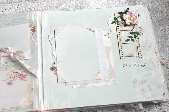 свадебный альбом, романтический альбом, альбом ручной работы