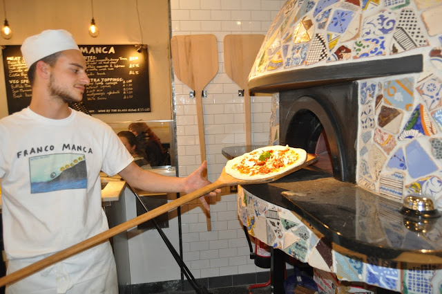 Foodie Friday - Franco Manca Brighton Marina, photo by modern bric a brac