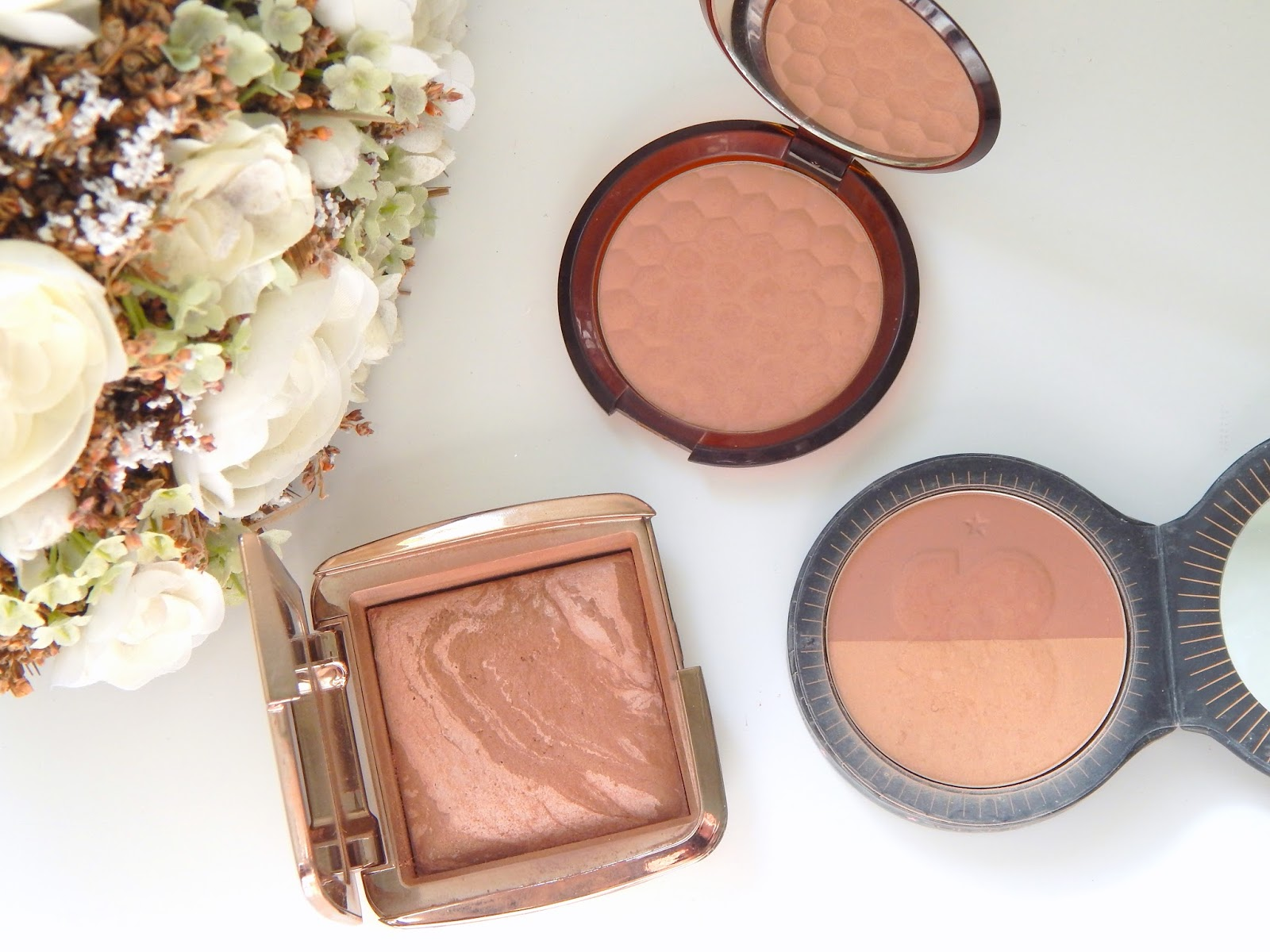 Bronzers for Pale Skin -The Body Shop, Hourglass and Soap and Glory