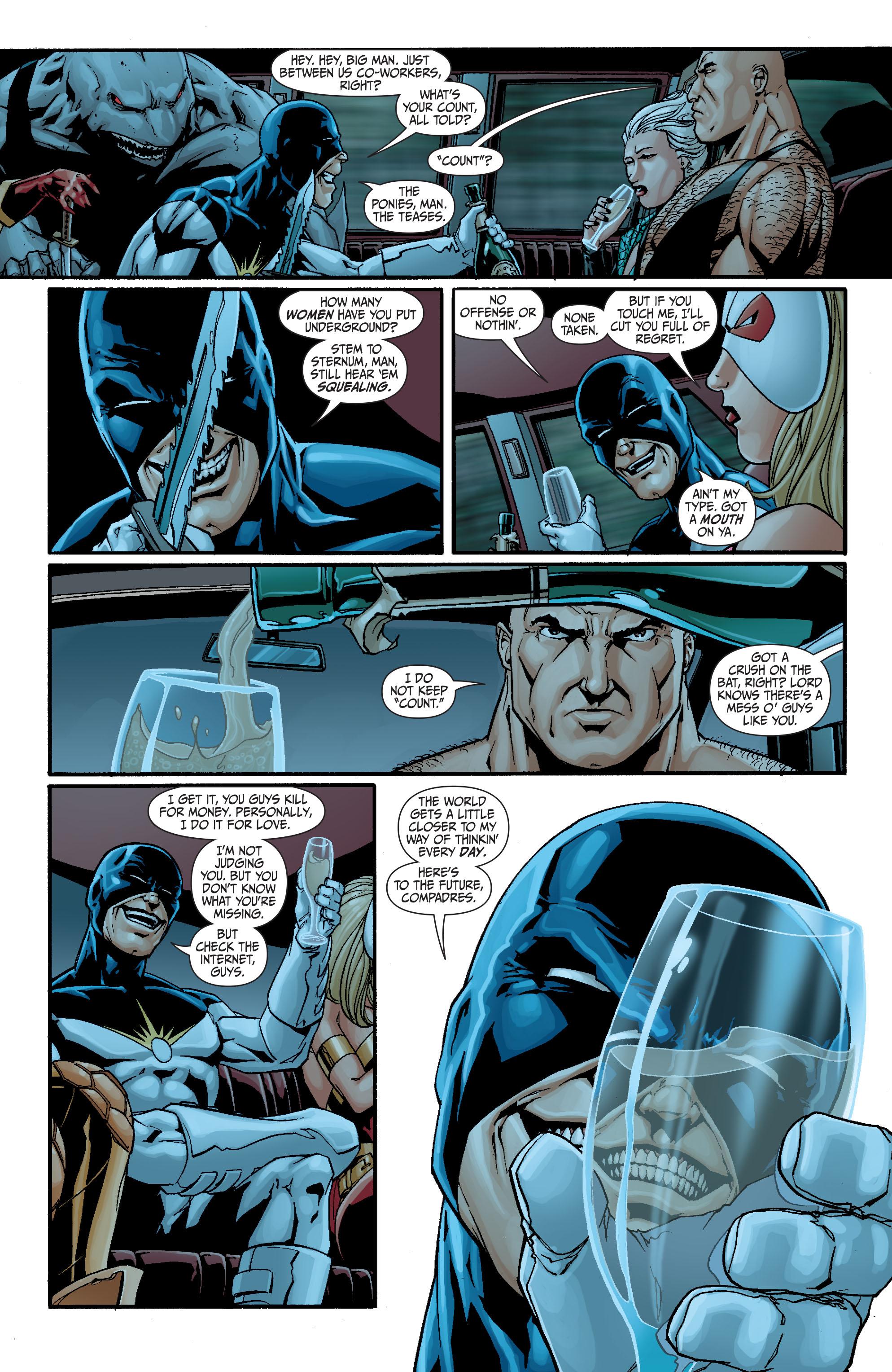 Read online Secret Six (2008) comic -  Issue #21 - 13