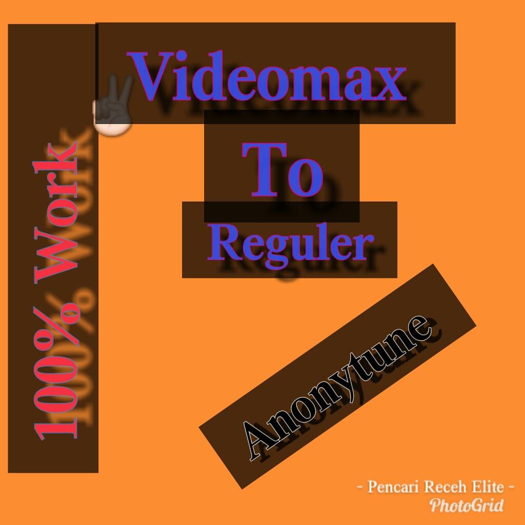 Cara Mengubah Kuota Videomax Menjadi Kuota Flash Reguler Biasa