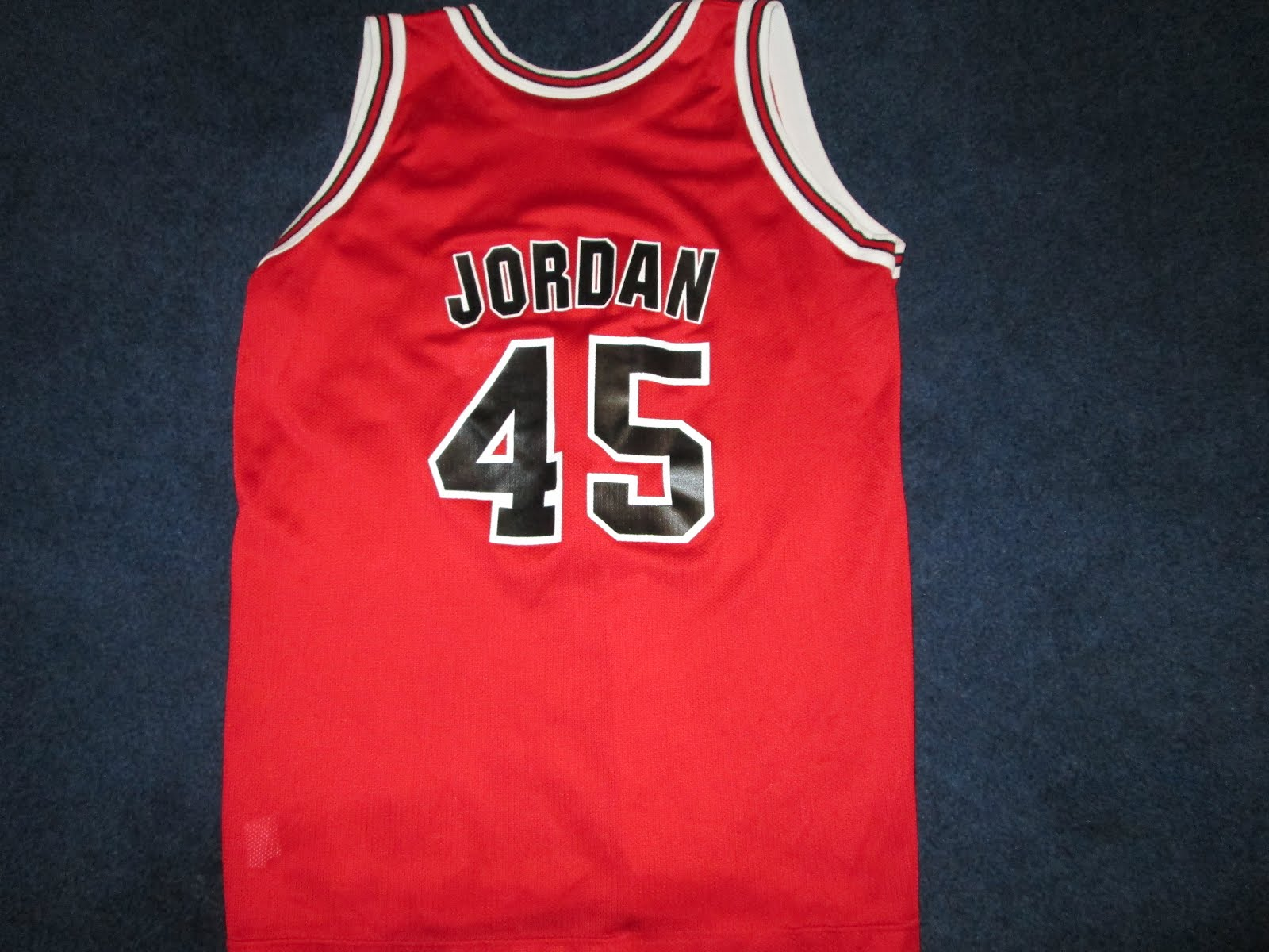 584918805 Vintage10916 Store  Vintage Michael Jordan  45 Champion Bulls Jersey