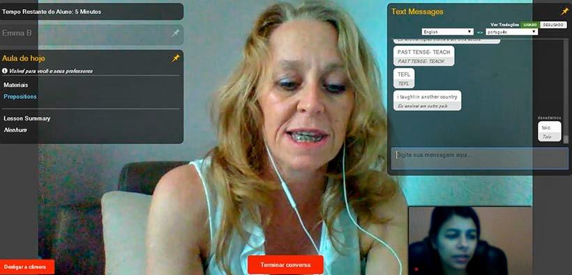 Inglês on-line - como melhoramos o idioma no Cambly