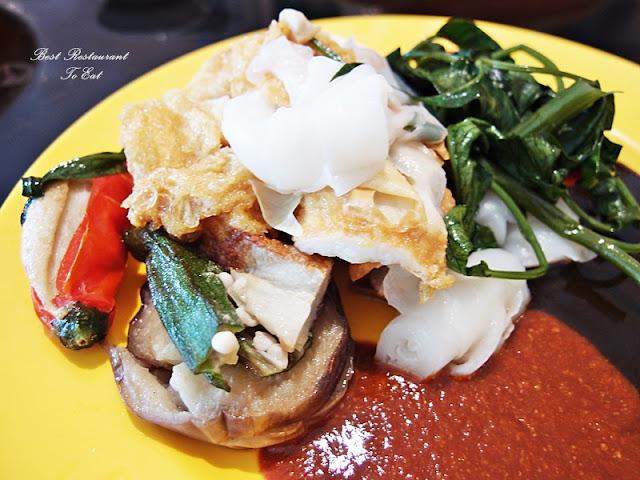 Chee Cheong Fun Yong Tau Foo Merdeka 2016 Hawker Street Food Marriot Putrajaya Selangor