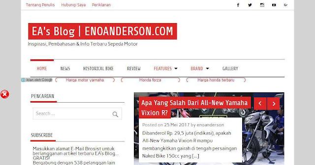 Ea's blog Enoanderson.com - Blog Otomotif  Terbaik Di Indonesia