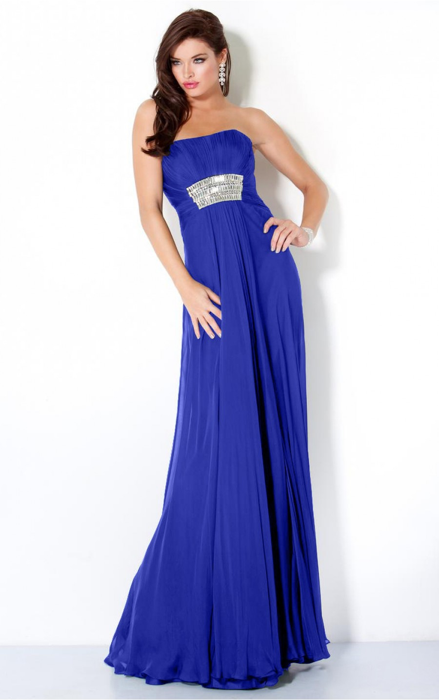 Royal Blue Bridesmaid Dress - All About Wedding