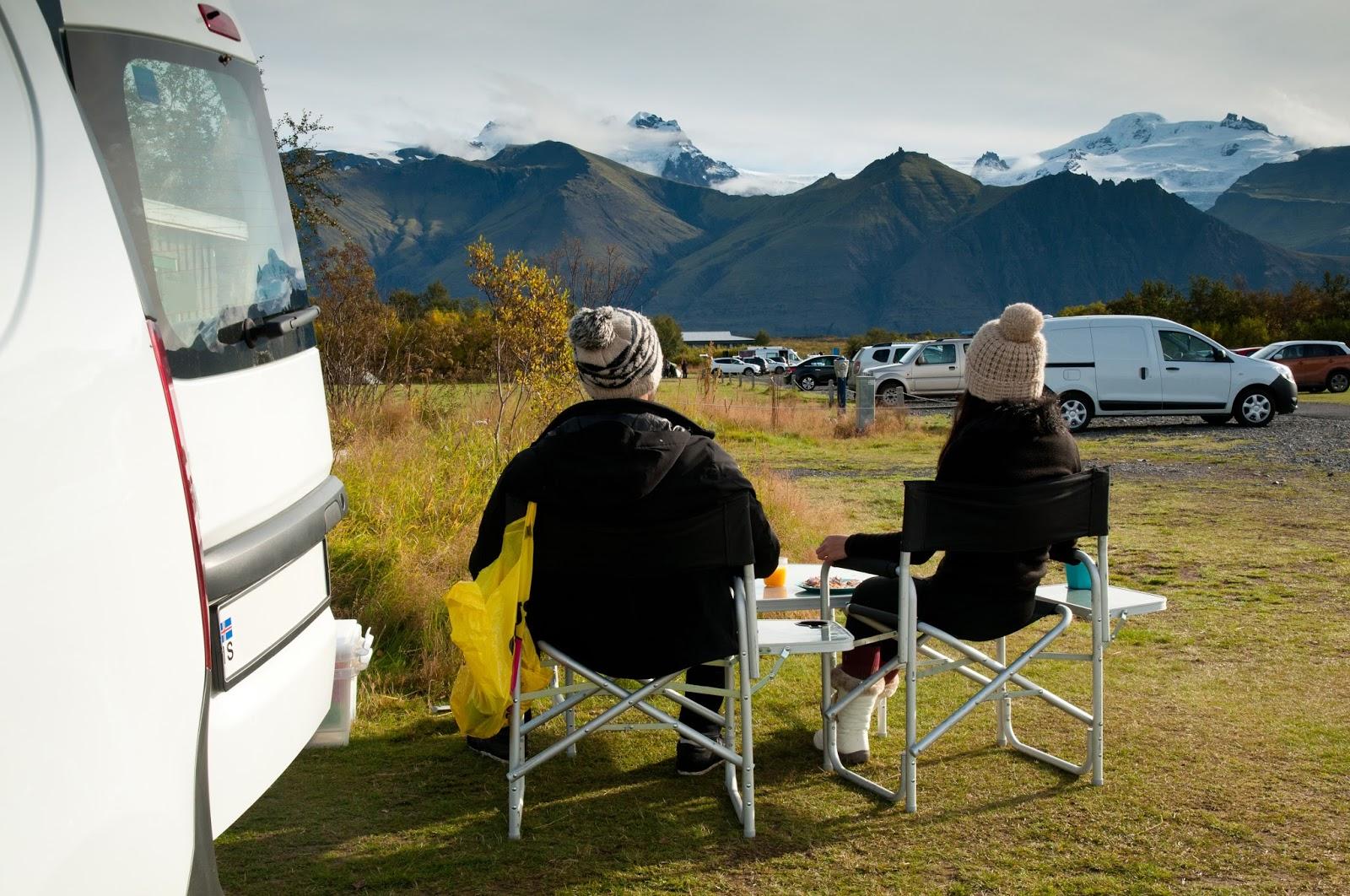 islandia 24 - noticias y viajes a islandia -: acampar en islandia