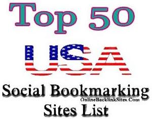 Top 50 USA Social Bookmarking Sites List