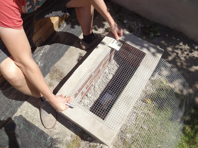 how to create a bbq in the garden