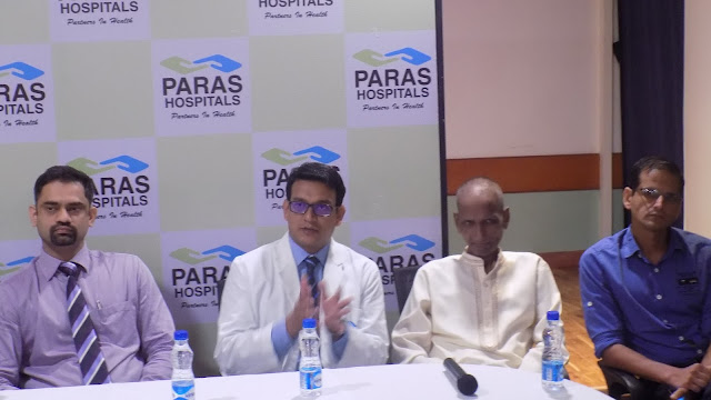 A 21-Kg Tumor Removed by Doctors at Paras Hospital, Gurgaon