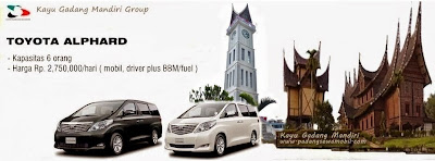 KGM Rental Alphard Padang