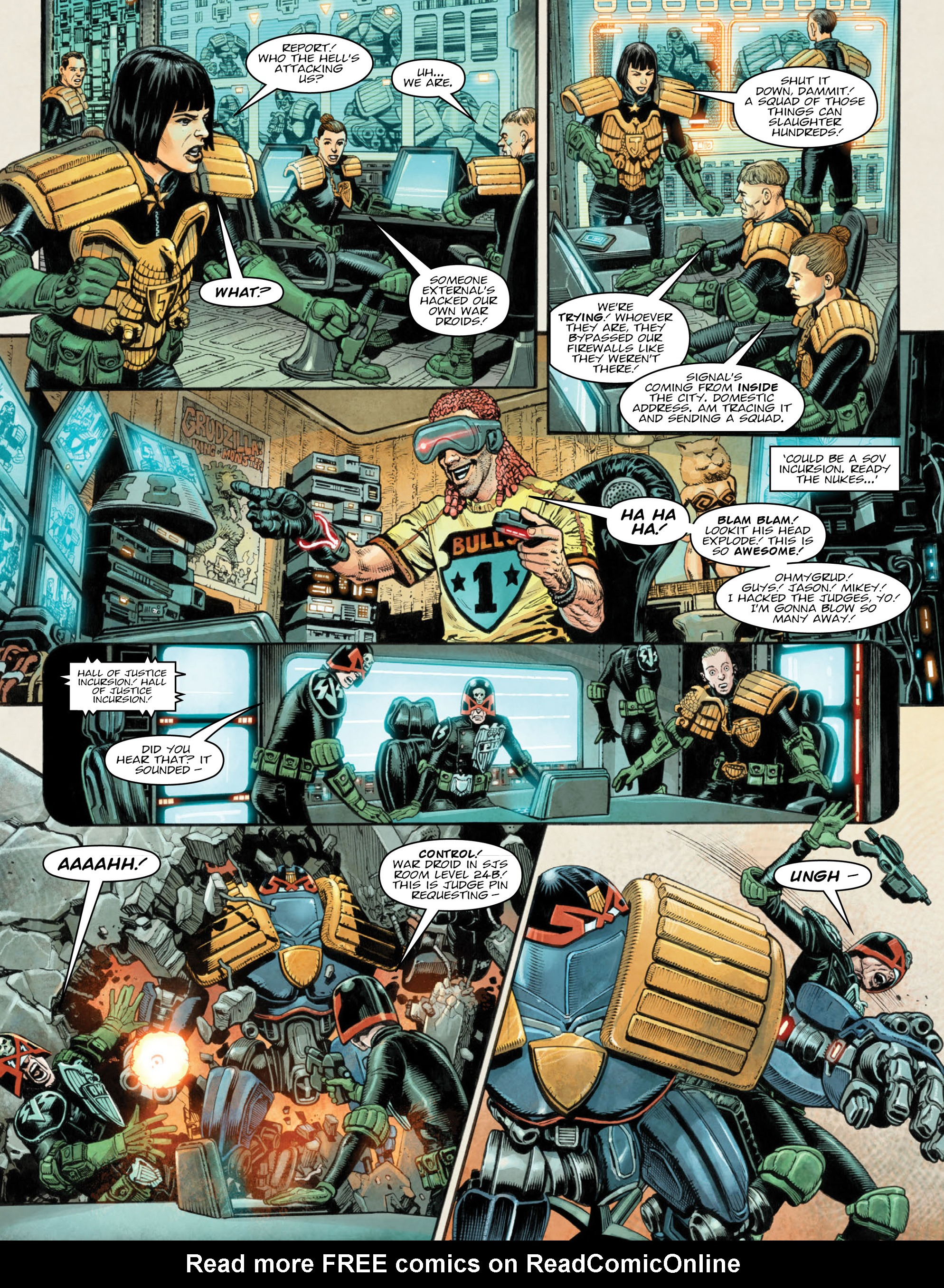 Read online 2000 AD comic -  Issue #2036 - 5