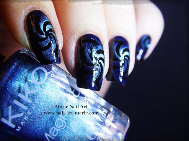 Nail Art Magnétique Hypnotisant2