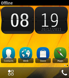 iphone ui for spb shell v3.7.1 for nokia 5233