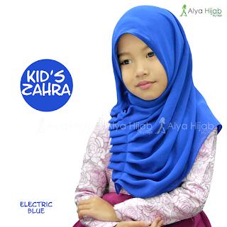 Pilihan Warna Jilbab Instant Zahra Kids