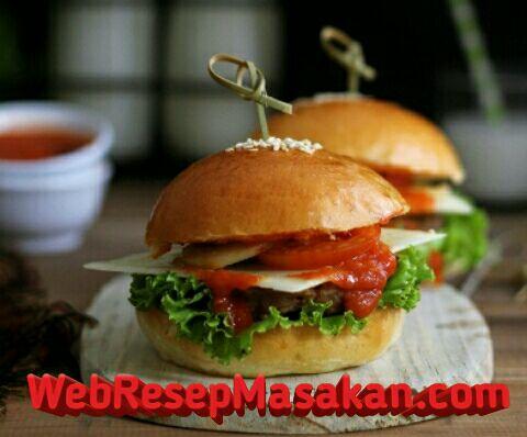Beef Burger, Resep beef burger.