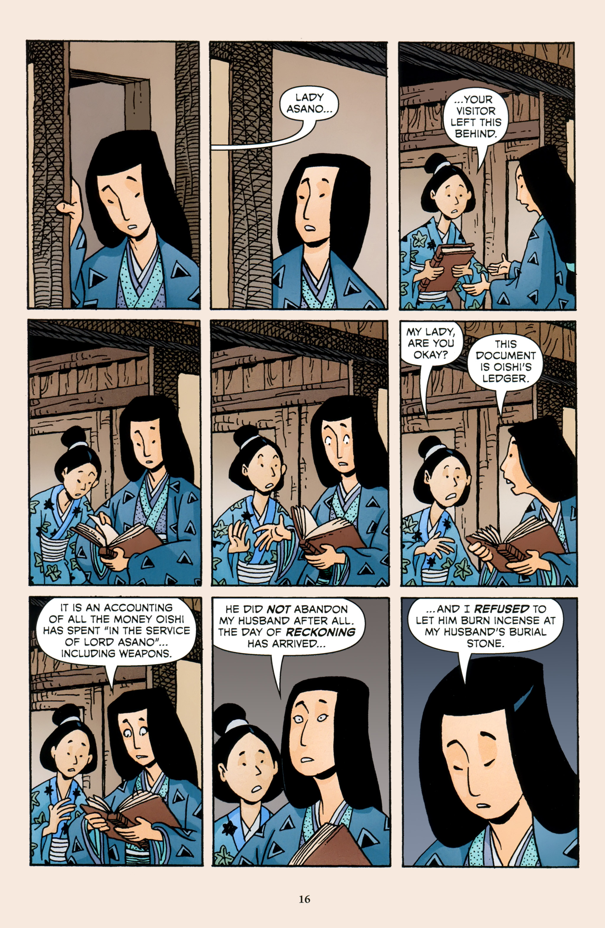 Read online 47 Ronin comic -  Issue #4 - 18