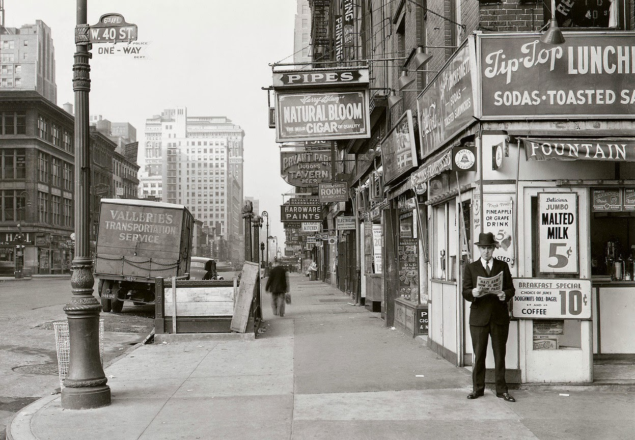 Ultimate Collection Of Rare Historical Photos. A Big Piece Of History (200 Pictures) - New York, May 18, 1940