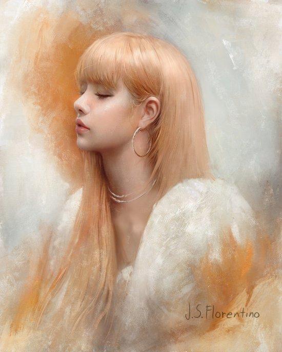 Justine Florentino artstation arte ilustrações pinturas digitais mulheres