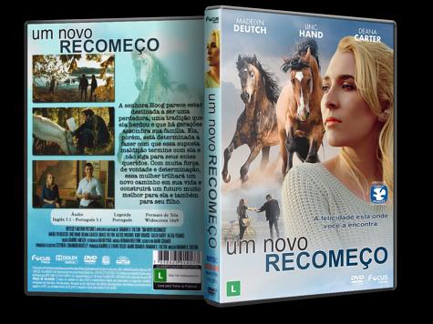 Capa DVD Um Novo Recomeço