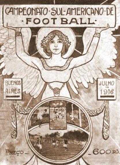 Resultado de imagen para campeonato sudamericano 1916